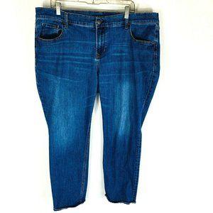Old Navy Womans Boyfriend Straight Denim Jeans 18
